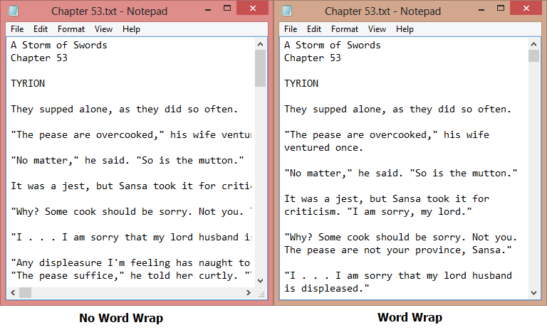 how to use wrap text in word